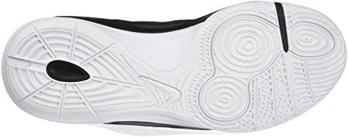 Nike Prime Hype Df Ii, Zapatillas de Baloncesto para Hombre negro / plata / blanco