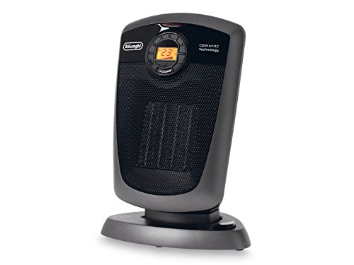 OVERSEAS USE ONLY Delonghi DC-H4590ER- Ceramic Fan Heater 220V 50Hz 1800W (ACUCRAFT® USA , ACUPWR Plug Kit - Lifetime Warranty) NOT for USA/CANADA