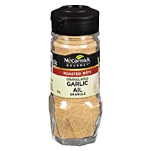 McCormick Gourmet, Premium Quality Natural Herbs & Spices, Roasted Granulated Garlic, 61g
