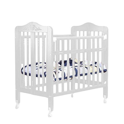 Orbelle Trading Nataliel 3-in-1 Convertible Crib with Mattress