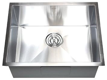 20 Kitchen Sink 26 x 20 single bowl undermount kitchen sink amazon 26quot x 20quot single bowl undermount kitchen sink workwithnaturefo