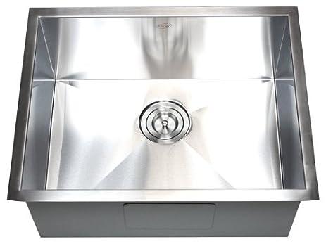 26 u0026quot  x 20 u0026quot  single bowl undermount kitchen sink 26   x 20   single bowl undermount kitchen sink     amazon com  rh   amazon com