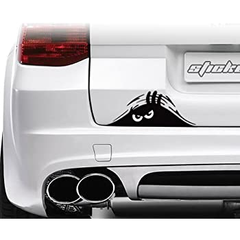 Amazoncom Inches Auto Vinyl Sticker Hood Bumper Fender - Car window decal stickers sports