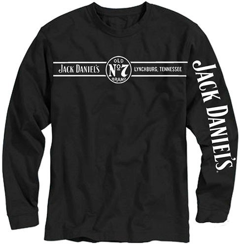 Jack Daniels Men's Daniel's Long Sleeve Tee - 15261425Jd-89