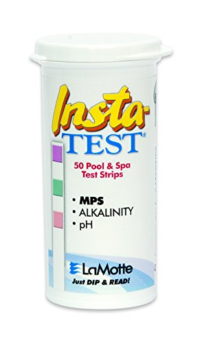 LaMotte Insta-Test Monopersulfate (MPS), Alkalinity, pH Test (Monopersulfate Test Strips)
