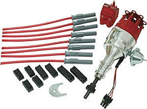 MSD Ignition 84745 RTR Distributor Kit for Small Block Ford 289/302 Crate Motor - Ford Crate Engine 302