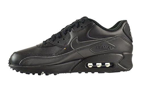 free shipping Inexpensive 2014 unisex sale online Nike Air Max 90 Leather Men's Shoes Black/Black 302519-001 discount affordable new arrival cheap price CzzNarHhN