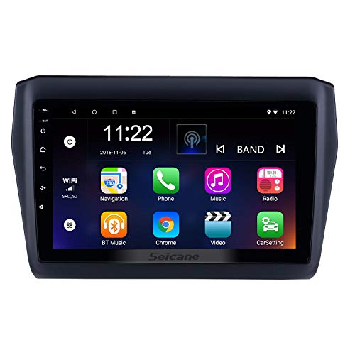 9 inch Android 8.1 Car Stereo GPS Navigation for Suzuki Swift 2017-2019 with Bluetooth USB WiFi Support SWC 1080P