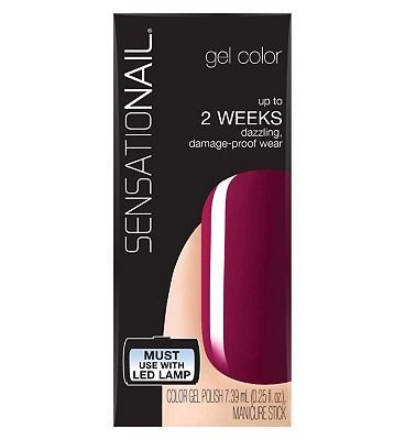 [SensatioNail Gel Polish Sugar Plum by Sensationail] (Polish Sugar)