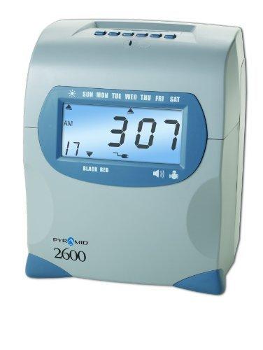New-Pyramid Technologies 2600 - Six-Column Time Recorder, 7 1/2 x 5 1/4 x 9 - PTI2600