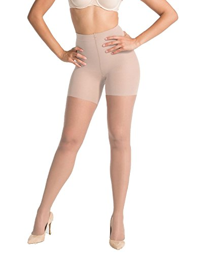 Spanx Cotton Tights - SPANX Women's Luxe Leg Sheer Tights, Nude, B