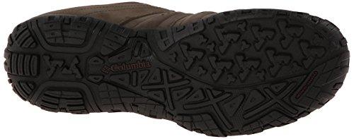 Columbia Woodburn Plus Waterproof, Botas de Senderismo para Hombre Marrón (Major, Madder Brown 245Major, Madder Brown 245)