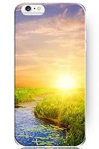 SPRAWL New Beautiful Snap On Hard Cover Shell Sunrise Prairie Creek 4.7 Inch Iphone 6 Case Vintage Design