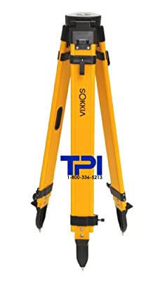 Sokkia Wood Fiberglass Tripod,gps,total Station,surveying,topcon,trimble