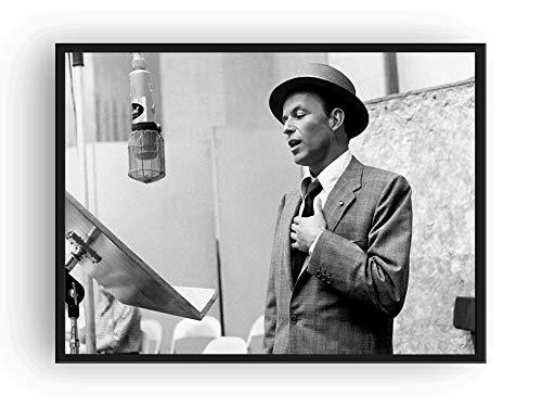 Mile High Media Frank Sinatra Poster Recording Studio Print Sinatra (24x36)