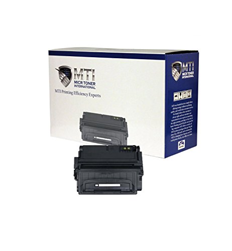 MTI TROY 02-81118-001 Compatible MICR Toner Cartridge (Yield: 12,000) for check printing compatible with Troy & HP LaserJet Printers: 4200, 4200n, 4200tn, 4200dtn, 4200dtns, 4200dtnsl by MICR Toner International