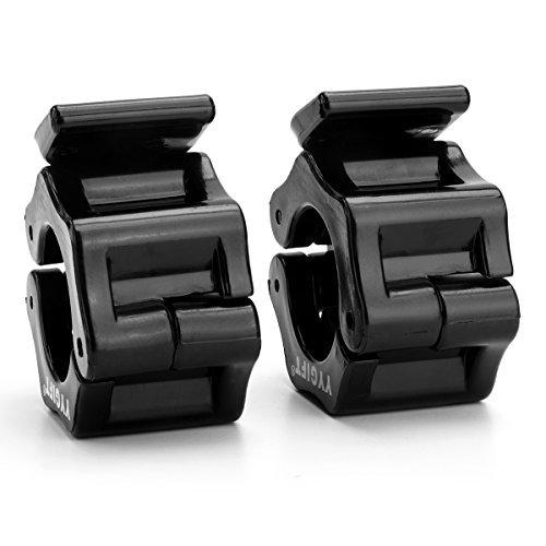 YYGIFT Barbell Collar 25mm//30 mm Hantelverschl/üsse Hantelstangen Verschluss Barbell Halsb/änder f/ür Langhantelstange Curlstange Kurzhantelstange 1 Paar