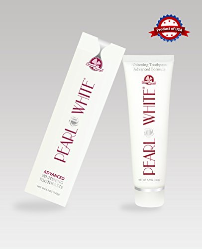 Beyond Pearl White Advanced Formula Toothpaste (4.2 Oz/120g) (Whitening White Toothpaste Pearl)