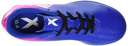 adidas X 16.4 In, Botas de Fútbol Unisex Niños Azul (Blue / Ftwr White / Shock Pink)