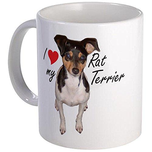 CafePress Rat Terrier Mug Unique Coffee Mug, Coffee Cup