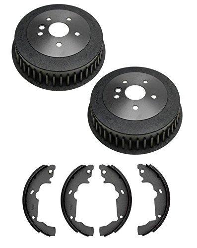 Mac Auto Parts 22772 Toyota Sienna Rear Brake Drum Drums & Shoes 358 (Toyota Sienna Brake Shoe)