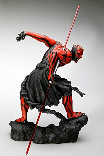 Kotobukiya Star Wars ARTFX PVC Statue 1/7 Darth Maul Japanese Ukiyo-E Style Light-Up Edition 28 cm