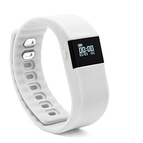 BlueWeigh Rainbow Fitness Activity Tracker with Sleep Monitor, -