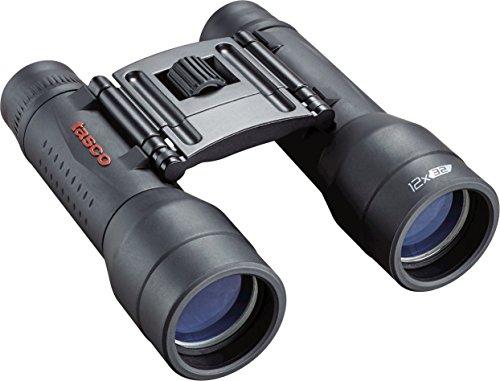 TASCO ES12X32 Essentials Roof Prism Roof MC Box Binoculars, 12 x 32mm, Black by TASCO