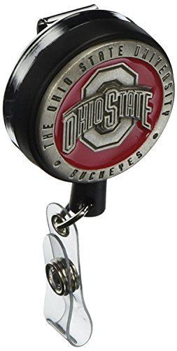 Large Pewter Badge Reel - Ohio State University