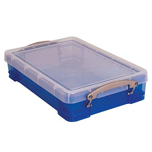 Really Useful Box Plastic Storage Box, 4 Liters, 14 1/2