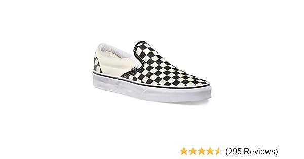 fa7163f9040a Amazon.com  Vans Unisex Classic Slip-On Black Black VN000EYEBKA  Shoes