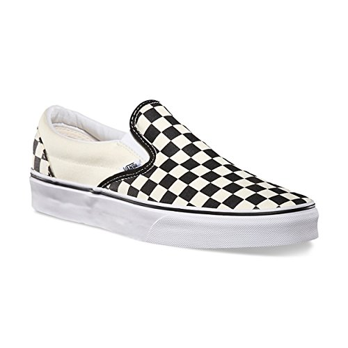 U White Off Slip on Overwashed Black Checkerboard Erwachsene Unisex Sneakers Classic Vans dFzvRd