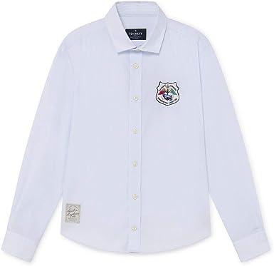 Hackett - Hackett Camisa HK301558 Sail and Explore Y - Camisa Manga Larga NIÑO: Amazon.es: Ropa y accesorios