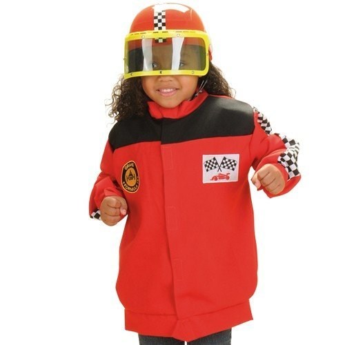 Constructive Playthings Classroom Career Outfit for Kids- Race