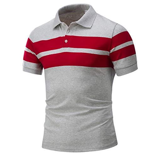 [해외]남성 블라우스 폴로 셔츠 남성 여름 최고 캐주얼 인쇄 남성 짧은 소매 T 셔츠 캐주얼 클래식 블라우스 셔츠 / Men Blouse Polo Shirts for Men Summer Top Casual Printing Men`s Short Sleeved T-Shirt Casual Classic Blouse Shirt