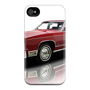Ideal LatonyaSBlack For Apple Iphone 4/4S Case Cover (lincoln Continental Town Car '1976), Stylish Case