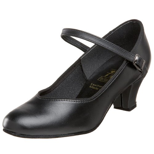 Tic-Tac-Toes Women's Tina Ankle Strap Pump,Black,8 M US by Tic-Tac-Toes