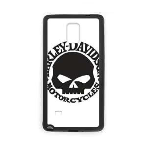 Logo Harley Davidson Samsung Galaxy Note 4 Cell Phone Case Black Special gift AJ84U18U