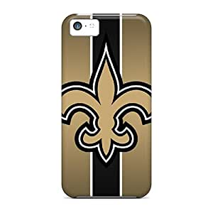 Iphone 5c EXX15636KnRL Custom Colorful New Orleans Saints Series High Quality Cell-phone Hard Cover -IanJoeyPatricia