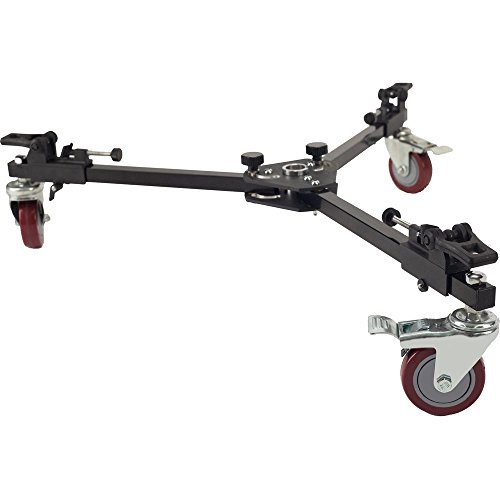 Davis & Sanford W4DS 4'' Professional Spreader Dolly for Tripod, 85lbs Capacity by Davis & Sanford
