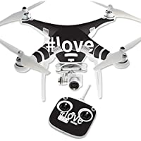 Skin For DJI Phantom 3 Standard – Love 2 | MightySkins Protective, Durable, and Unique Vinyl Decal wrap cover | Easy To Apply, Remove, and Change Styles | Made in the USA