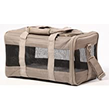 Sherpa 55540 Original Deluxe Pet Carrier, Small, Gray