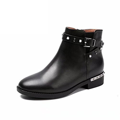 Boots Damen Stiefel & Stiefeletten Schwarz