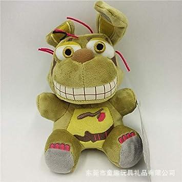 Amazon.com: HOLLUK New FNAF Plush Doll Toys Dy Fazbear Bear ...