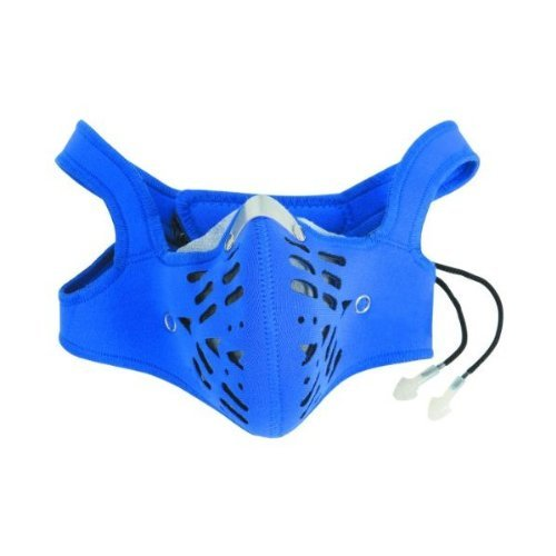 Western Safety Carbon Filter Neoprene Dust Mask With Replaceable Liners