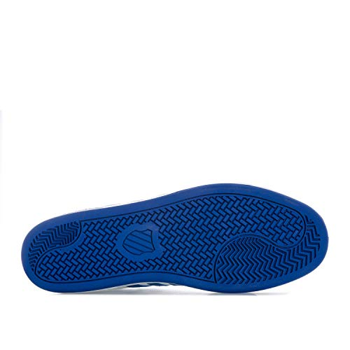 Cheswick K Homme swiss Basses Court Sneakers Bleu Blanc EEBpqC