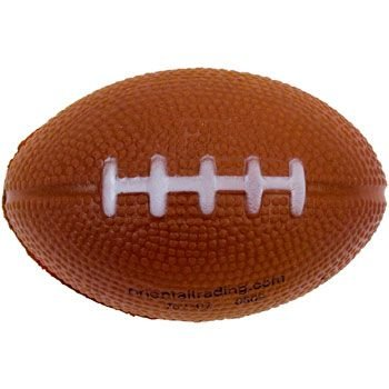Mini Foam Football 12 pack