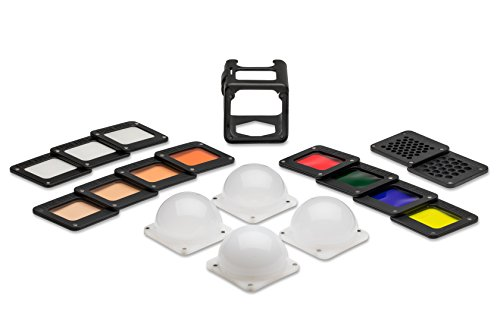 Lumi Pack - Lume Cube - Light-House Master Gel Pack with LEE Filters diffusion for Photo and Video