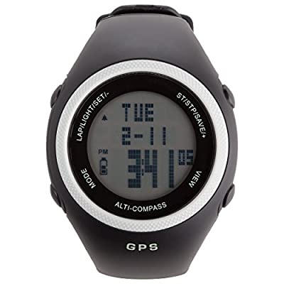Ultega NavRun 600 GPS Heart Rate Monitor with 2.4 GHz Chest Strap