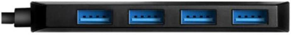 High-Speed 4-Port HUB Multi-Interface Docking Station Docking Converter Color : Black Youshangshipin Hub USB3.0 Splitter Scratchproof USB Splitter